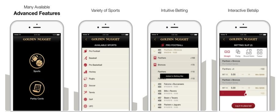 Golden Nugget App