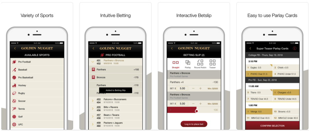 Golden Nugget Sportsbook App Nevada